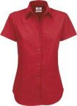 B&C – Twill Shirt Sharp Short Sleeve / Women for embroidery and printing