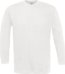 B&C – T-Shirt Exact 190 Long Sleeve for embroidery and printing