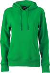 James & Nicholson – Ladies' Hooded Sweat zum besticken und bedrucken