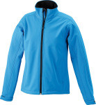 James & Nicholson – Ladies' Softshell Jacket for embroidery and printing