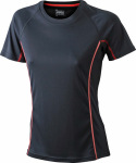 James & Nicholson – Ladies' Running Reflex-T Funktion T-Shirt for embroidery and printing