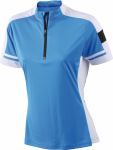 James & Nicholson – Ladies´ Bike-T Half Zip for embroidery and printing