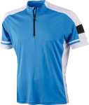 James & Nicholson – Men´s Bike-T Half Zip for embroidery and printing