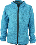 James & Nicholson – Men´s Knitted Fleece Hoody hímzéshez