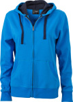 James & Nicholson – Ladies´ Hooded Jacket for embroidery and printing