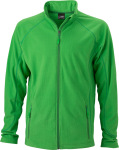 James & Nicholson – Men´s Structure Fleece Jacket zum besticken