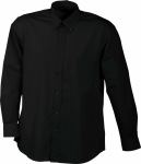 James & Nicholson – Men's Promotion Shirt Long-Sleeved for embroidery and printing