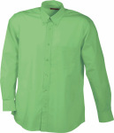 James & Nicholson – Men's Promotion Shirt Long-Sleeved zum besticken und bedrucken