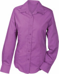 James & Nicholson – Ladies' Promotion Blouse Long-Sleeved zum besticken und bedrucken