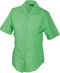 James & Nicholson – Ladies' Promotion Blouse Short-Sleeved zum besticken und bedrucken