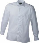 James & Nicholson – Men's Business Shirt Long-Sleeved for embroidery and printing