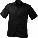 James & Nicholson – Men's Business Shirt Short-Sleeved for embroidery and printing