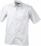 James & Nicholson – Men's Business Shirt Short-Sleeved zum besticken und bedrucken