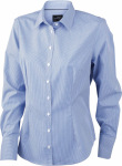 James & Nicholson – Ladies' Long-Sleeved Blouse zum besticken und bedrucken