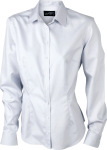 James & Nicholson – Ladies' Long-Sleeved Blouse (120 g/m²) zum besticken und bedrucken