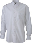 "James & Nicholson – Men's Shirt ""BUTTON DOWN"" zum besticken und bedrucken"