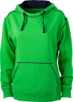 James & Nicholson – Ladies´ Lifestyle Hoody for embroidery and printing