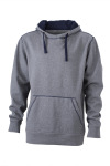 James & Nicholson – Men´s Lifestyle Hoody for embroidery and printing