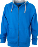 James & Nicholson – Men´s Lifestyle Zip-Hoody for embroidery and printing