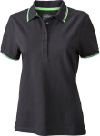James & Nicholson – Ladies´ Coldblack® Polo for embroidery and printing