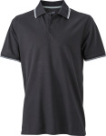 James & Nicholson – Men´s Coldblack® Polo for embroidery and printing