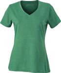 James & Nicholson – Ladies´ Heather T-Shirt for embroidery and printing