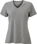 James & Nicholson – Ladies´ Heather T-Shirt zum besticken und bedrucken