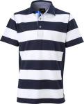 James & Nicholson – Men's Maritime Polo for embroidery and printing