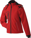 James & Nicholson – Ladies´ Winter Softshell Jacket for embroidery and printing