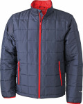 James & Nicholson – Men´s Padded Light Weight Jacket for embroidery