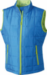 James & Nicholson – Ladies´ Padded Light Weight Vest zum besticken