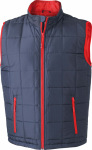 James & Nicholson – Men´s Padded Light Weight Vest for embroidery