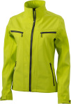 James & Nicholson – Ladies´ Tailored Softshell zum besticken und bedrucken