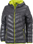 James & Nicholson – Ladies´ Down Jacket zum besticken