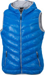 James & Nicholson – Ladies' Down Vest hímzéshez