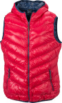 James & Nicholson – Ladies' Down Vest zum besticken