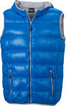 James & Nicholson – Men's Down Vest for embroidery