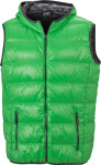 James & Nicholson – Men's Down Vest zum besticken