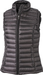 James & Nicholson – Ladies' Quilted Down Vest for embroidery