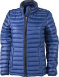 James & Nicholson – Ladies' Quilted Down Jacket zum besticken
