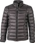 James & Nicholson – Men's Quilted Down Jacket zum besticken