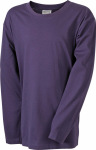 James & Nicholson – Junior Shirt Long-Sleeved Medium for embroidery and printing