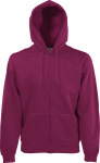 Fruit of the Loom – Hooded Sweat-Jacket zum besticken und bedrucken
