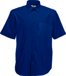Fruit of the Loom – Men´s Short Sleeve Oxford Shirt zum besticken und bedrucken