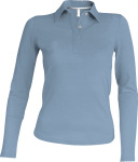 Kariban – Ladies Pique Polo Longsleeve for embroidery and printing