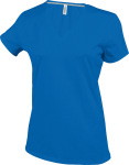 Kariban – Ladies Short Sleeve V-Neck T-Shirt for embroidery and printing