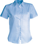 Kariban – Ladies Short Sleeve Easy Care Cotton Poplin Shirt for embroidery and printing