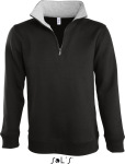 SOL'S – Men Sweat Shirt Scott 1/4 Zip zum besticken und bedrucken