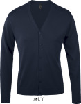 SOL'S – Golden Men V-Neck Knitted Cardigan for embroidery and printing