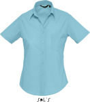 SOL'S – Popeline-Blouse Escape Shortsleeve for embroidery and printing